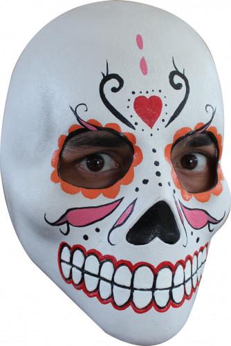 Kleurrijk Dia de los Muertos masker voor volwassenen