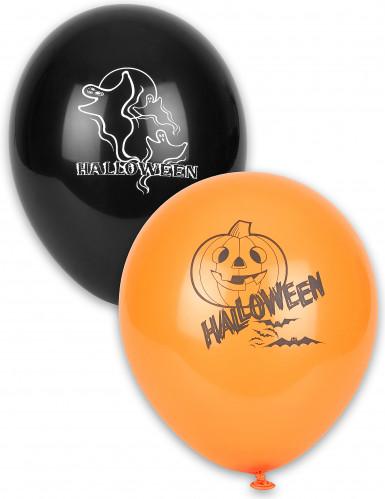12 Halloweenballonnen