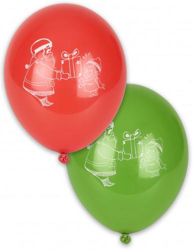 4 kerstballonnen