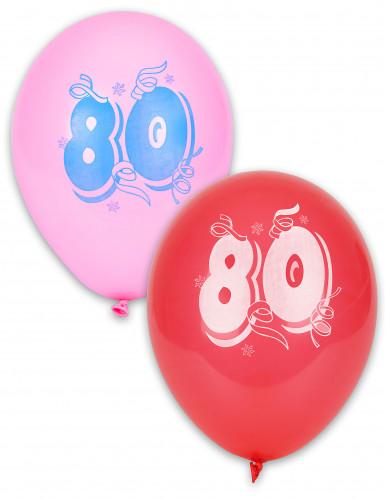 10 nummer 80 ballonnen