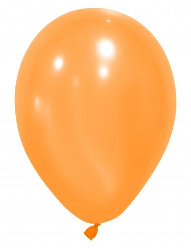 24 oranje ballonnen van 25 cm