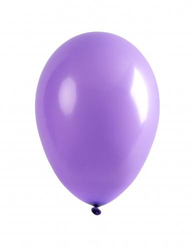 24 paarse ballonnen van 25 cm