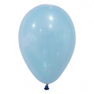 24 turkooizen ballonnen van 25 cm