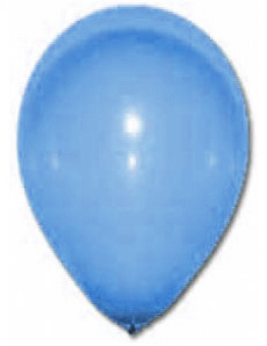 24 donkerblauwe ballonnen van 25 cm