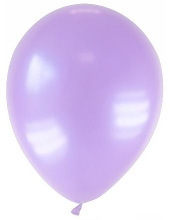 12 gemetalliseerde lavendelkleurige ballonnen