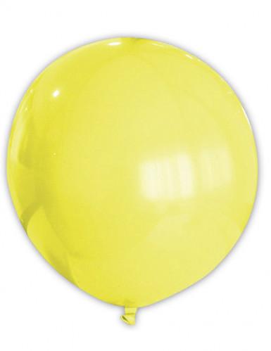 Reusachtige gele ballon