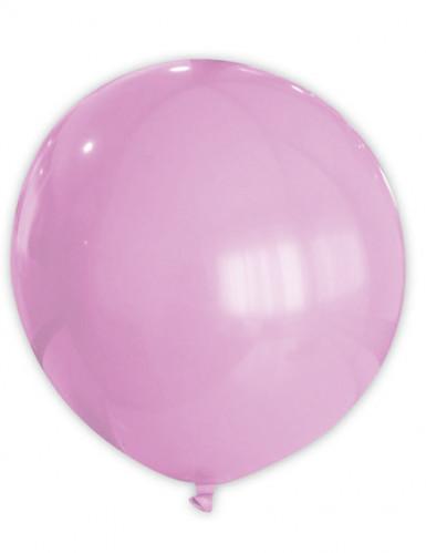 Reusachtige roze ballon