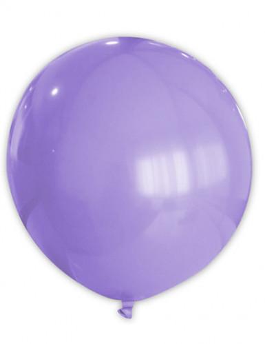 Reusachtige paarse ballon