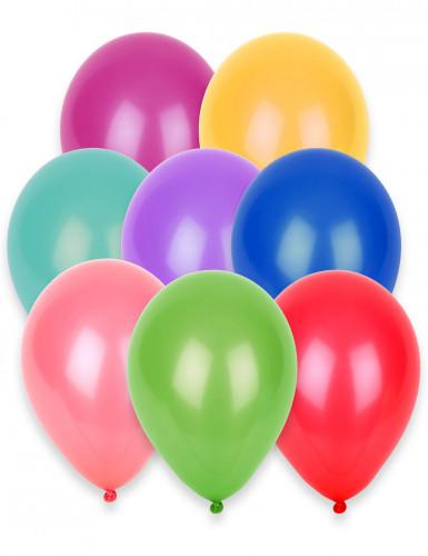 Set 100 ballonnen in verschillende kleuren