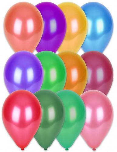 100 metallic ballonnen 29 cm