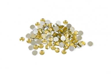 Ronde goudkleurige confetti 10g