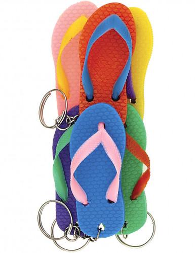 Set van slippers sleutelhangers