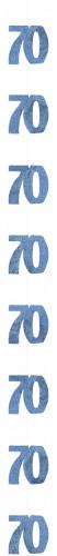 Slinger 70 jaar blauw