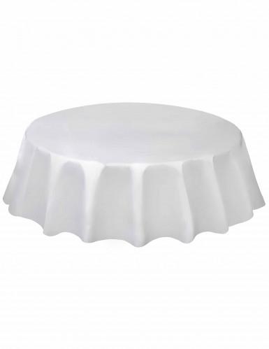 Rond wit tafelkleed