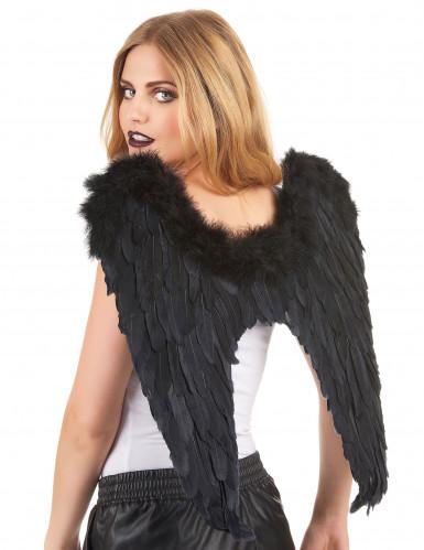 Zwarte vleugels voor volwassenen