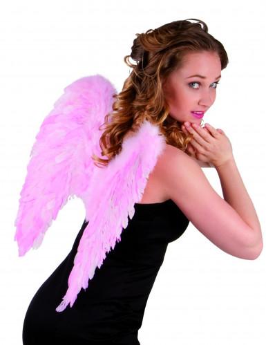 Roze veren vleugels voor volwassenen