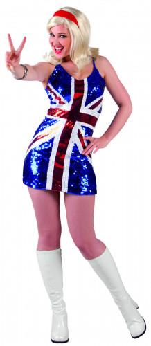 Verenigd Koninkrijk-jurk voor vrouwen