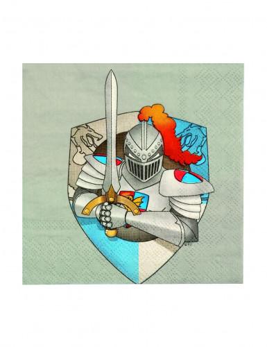 12 servetten ridder