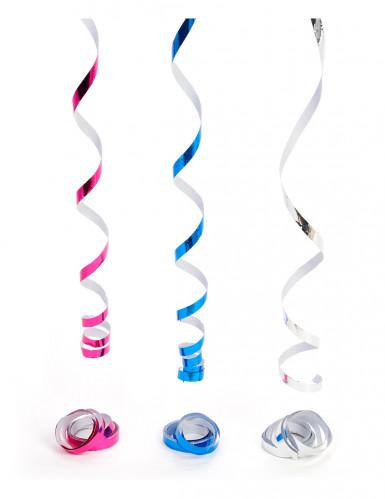 Rol slingers gemetaliseerde kleuren disco