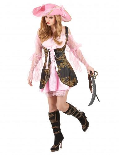 Roze piraten kostuum voor vrouwen-1