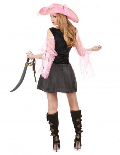 Roze piraten kostuum voor vrouwen-2