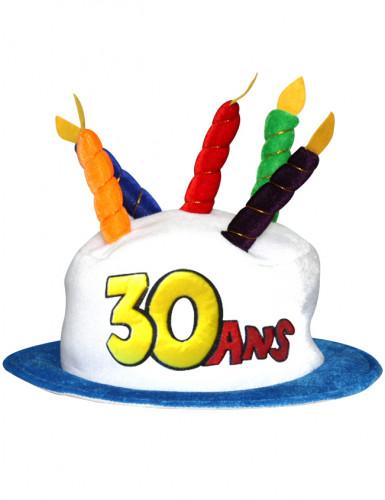 Verjaardagshoed voor volwassenen leeftijd 30