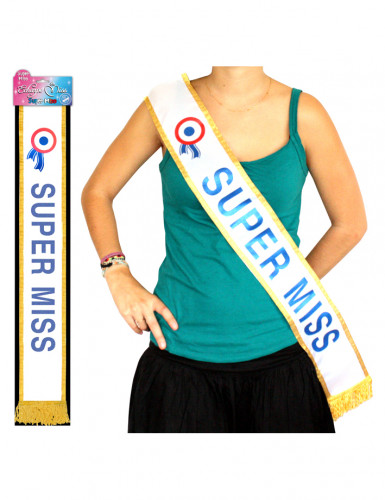 Blauwe sjerp Super miss