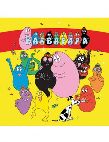Set Barbapapa™ servetten