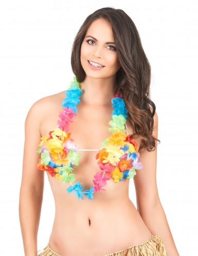 Veelkleurige Hawaï ketting voor volwassenen-1