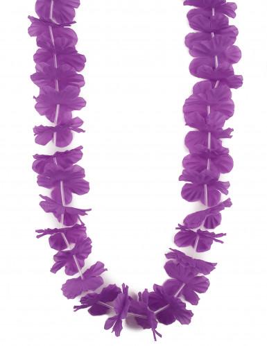 Paarse Hawaïhalsketting