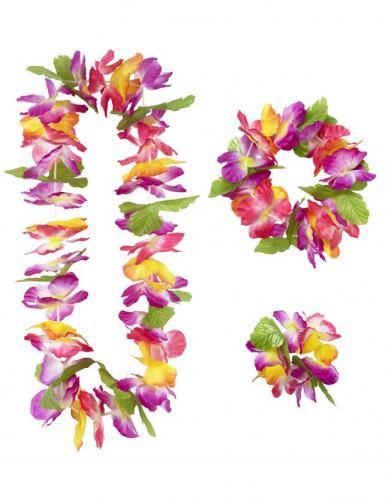 Hawaïset met bloemen voor volwassenen-1