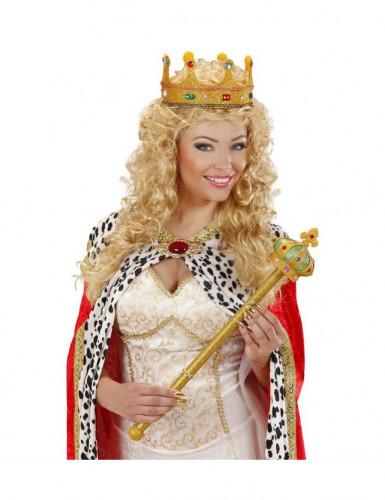 Goudkleurige koninklijke scepter