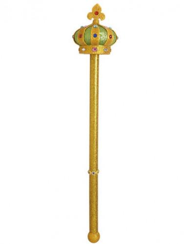 Goudkleurige koninklijke scepter-1