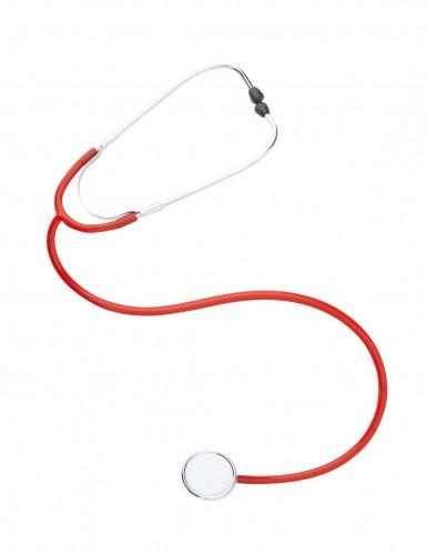 Rode stethoscoop voor volwassenen-1