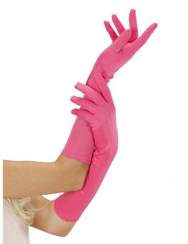 Lange fluoroze handschoenen
