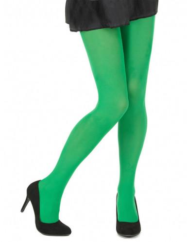 Groene panty voor volwassen vrouwen-1