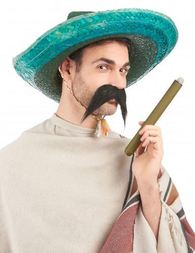 Groene Mexicaanse sombrero voor volwassenen-1