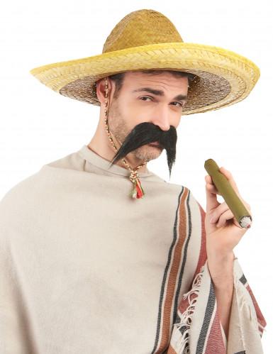 Gele Mexicaanse sombrero voor volwassenen-1