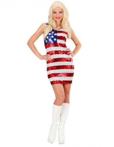 Schitterende jurk van miss USA