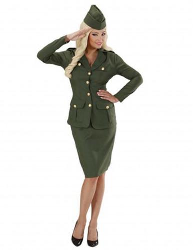 Soldatenkostuum voor vrouwen