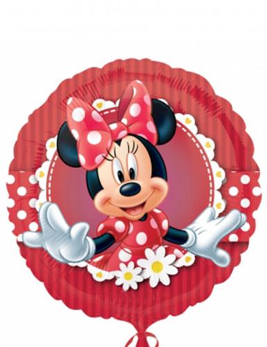 Rode Minnie™ folie ballon