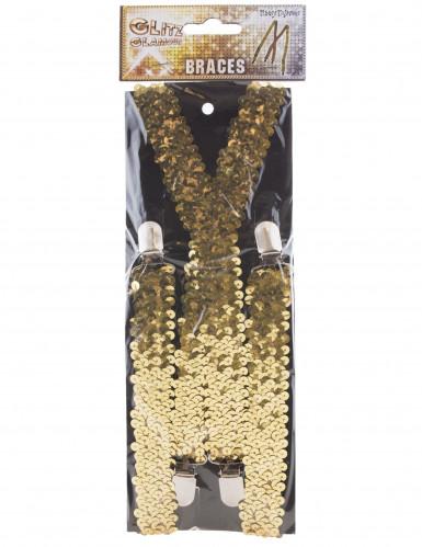 Goudkleurige bretellen met lovertjes-1