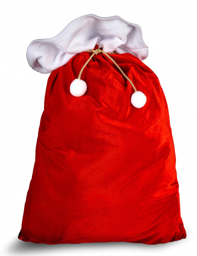 Rode Kerstman zak