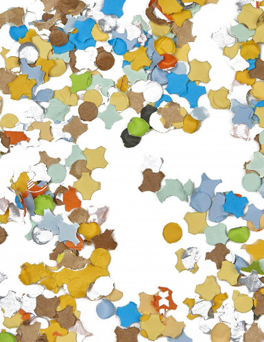 Zakje met 100 gram confetti
