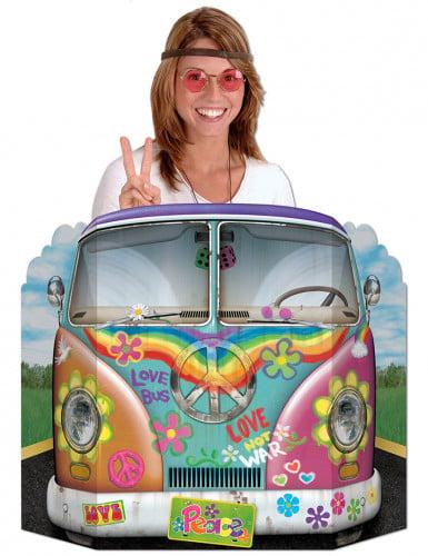 Hippie Flower Power photobooth set