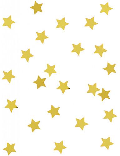 Sterren goudkleurige confetti