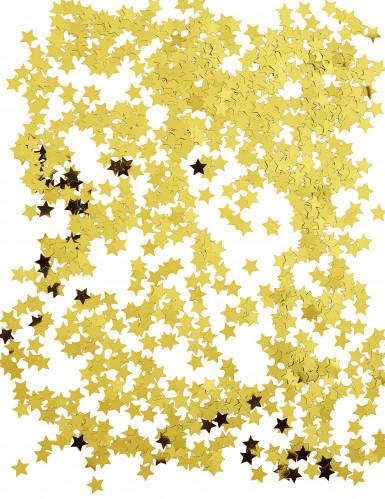 Sterren goudkleurige confetti-1