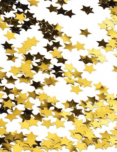 Sterren goudkleurige confetti-2