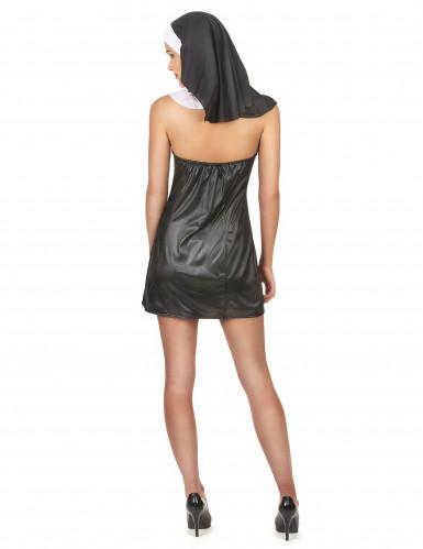 Sexy nonnen kostuum voor vrouwen-2