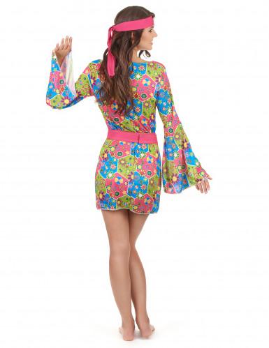 Hippie bloemen pak voor dames-2